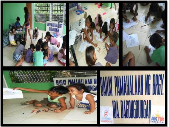Activities with children from the local community #WFMD2014 #AKTIBYouth #PagbilaoQuezon #QuezonProvince
