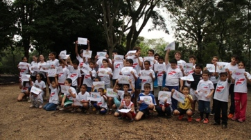 WFMD2014 travelling fish competition by Cachoeira de Emas community - CEPTA/Brazil