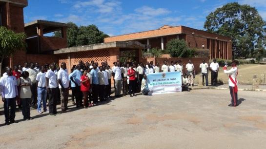 March in Lusaka, Zambia_4