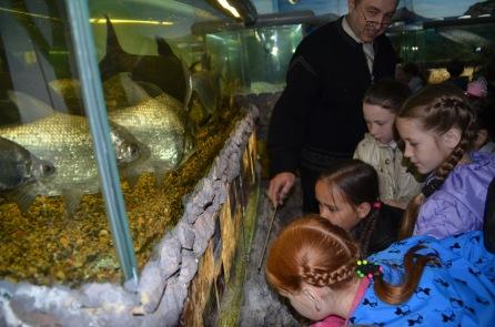 Visiting Amur Fish Museum