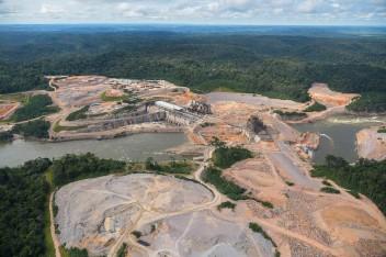 ZIG_6089- Constru+º+úo de barragem para usina do Teles Pires - Zig Koch-WWF