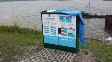 Afsluitdijk open voor vis