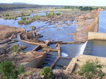 The new Engelhardt Dam Fishway.
