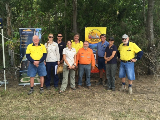 Partners of World Fish Migration Day with NQ Dry Tropics. Kalamia Creek