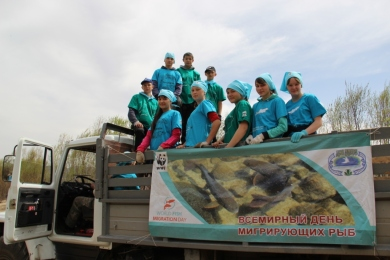 Public campaign Clean river - clean banks in Zabaikalsky Province