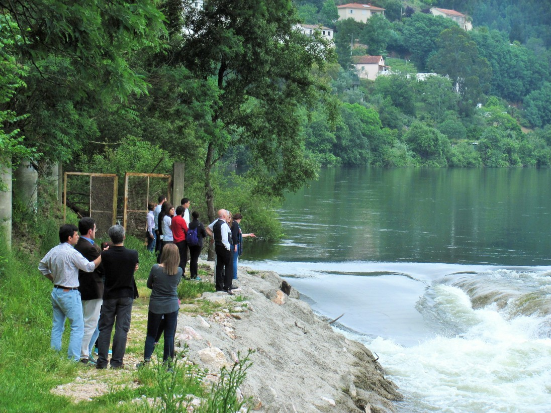 WFMD2016_Visit to nature-like fishway (fishway not visible in the picture)