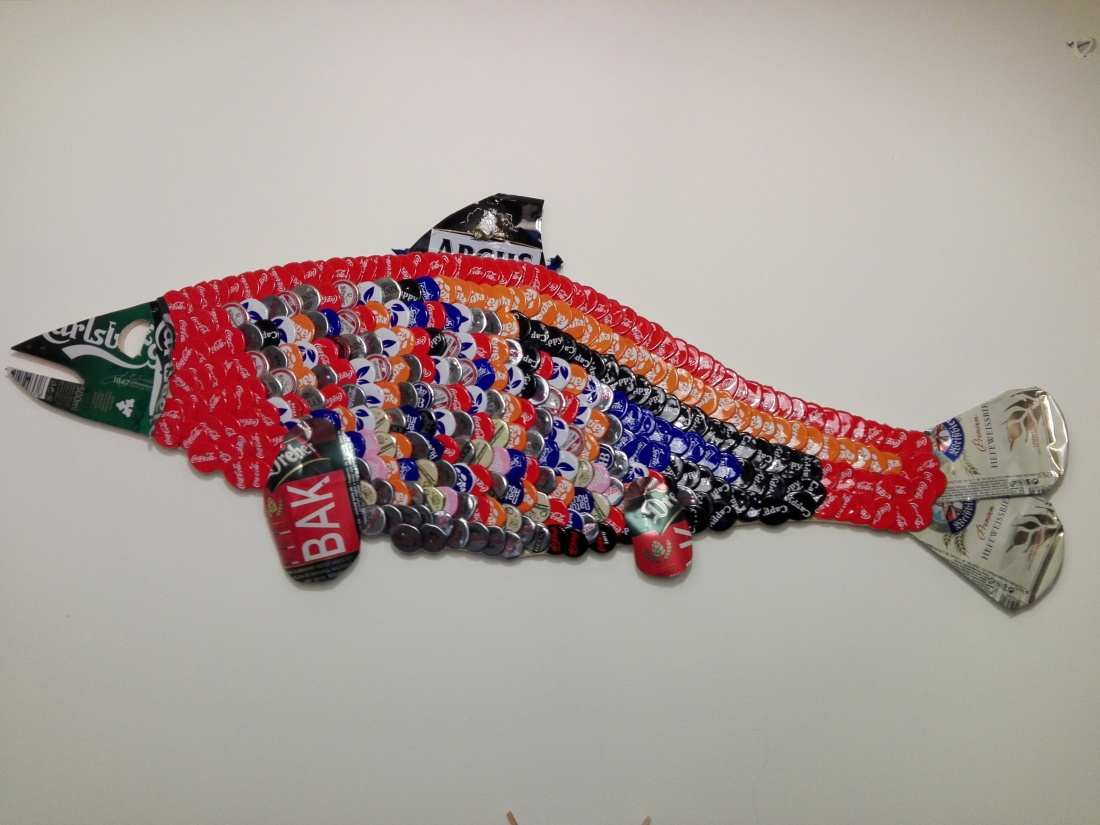 Second happy fish contestant